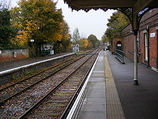 Wikipedia - Halesworth railway station