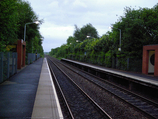Wikipedia - Halewood railway station