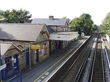Wikipedia - Harrietsham railway station