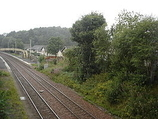 Wikipedia - Hartwood railway station