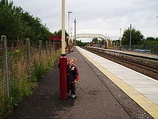 Wikipedia - Auchinleck railway station