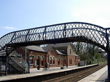 Wikipedia - Hever railway station