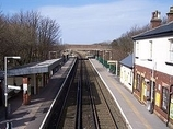 Wikipedia - Hightown railway station