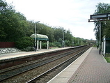 Wikipedia - Huncoat railway station