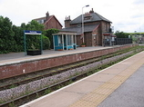 Wikipedia - Hunmanby railway station