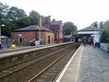 Wikipedia - Knutsford railway station