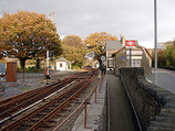 Wikipedia - Minffordd railway station