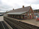 Wikipedia - Newtown (Powys) railway station