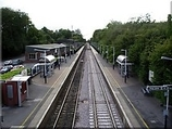 Wikipedia - Overton railway station