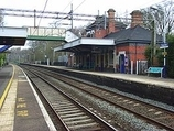 Wikipedia - Poynton railway station