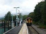 Wikipedia - Rogerstone railway station
