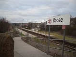 Wikipedia - Roose railway station