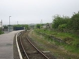 Wikipedia - St Columb Road railway station