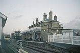 Wikipedia - Saxmundham railway station