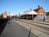 Wikipedia - Scunthorpe railway station