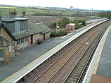 Wikipedia - Shotts railway station