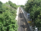 Wikipedia - Swanscombe railway station