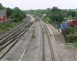 Wikipedia - Syston railway station