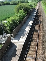 Wikipedia - Thornford railway station