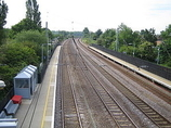 Wikipedia - Welham Green railway station