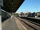 Wikipedia - Whitland railway station