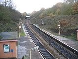 Wikipedia - Wood End railway station