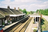 Wikipedia - Wymondham railway station