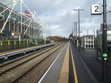 Wikipedia - Coventry Arena railway station