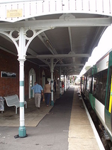 Wikipedia - Bosham railway station