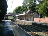 Wikipedia - Alderley Edge railway station