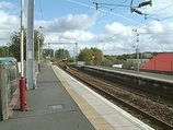 Wikipedia - Carntyne railway station