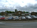 Wikipedia - Cupar railway station