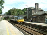 Wikipedia - Delamere railway station