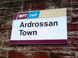 Wikipedia - Ardrossan Town railway station