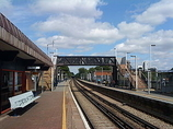 Wikipedia - Egham railway station