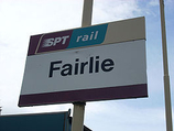 Wikipedia - Fairlie railway station