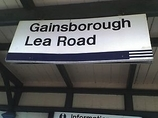 Wikipedia - Gainsborough Lea Road railway station